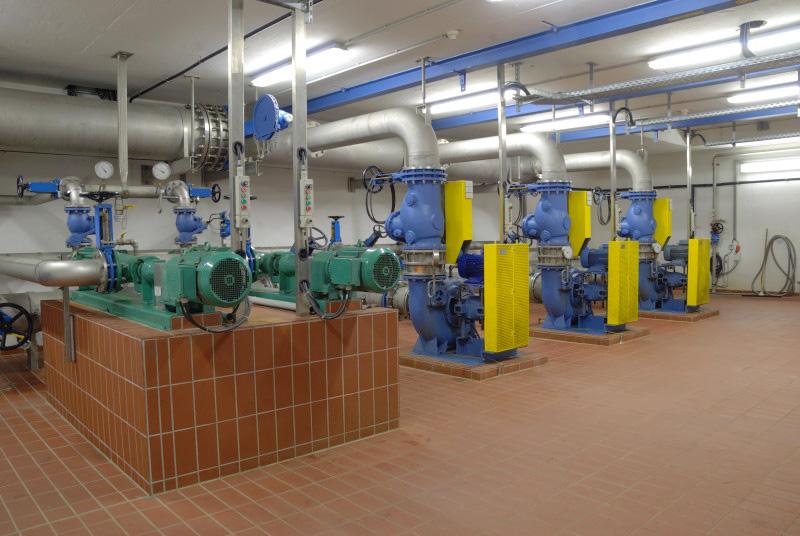 Überschussschlamm- und Rezirkulationspumpen