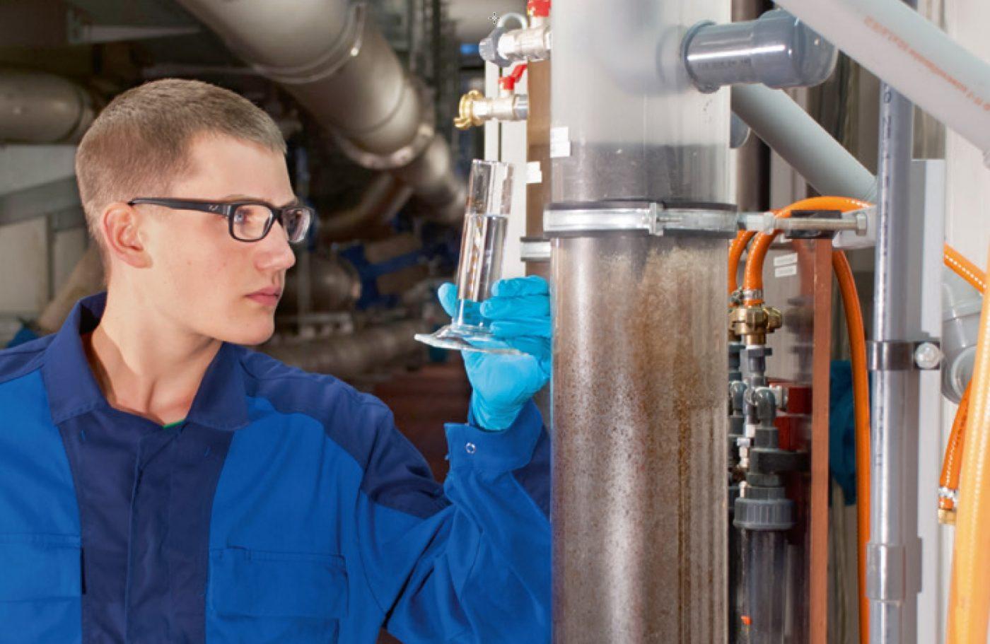 Ausbildung zur Fachkraft für Abwassertechnik (m/w/d)